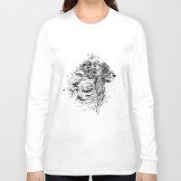 leo Long Sleeve T-shirts featuring Leo by Daniac Design