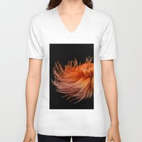 hayley williams V-neck T-shirts featuring Hayley Williams by Balansaaaaaaaa