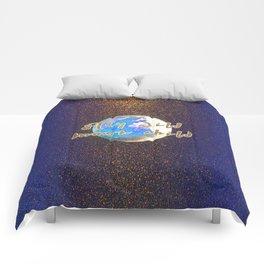 Stay Wild Moon Child Glitter Moon Comforters