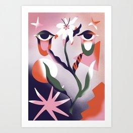 Crying Blosson Art Print