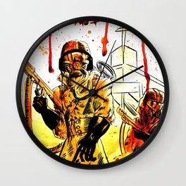 Acid Rain Wall Clock