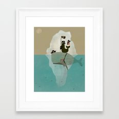 we are pirates too Framed Art Print