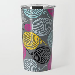 Yarn Yarn Yarn Yarn Yarn Travel Mug