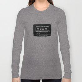 Driver Picks The Music Long Sleeve T-shirt
