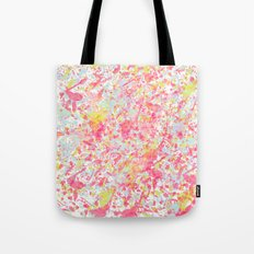 Explosion of blossoms Tote Bag