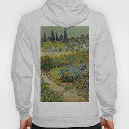 Vincent van Gogh - Garden at Arles (1888) Hoody