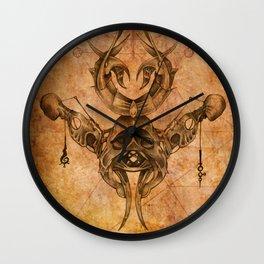Zodiac:  Gemini Wall Clock