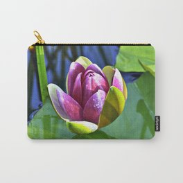 Summery Ode to the WATER LILY Carry-All Pouch