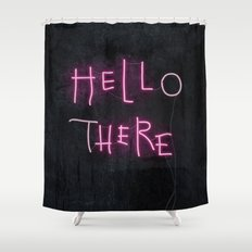 Hell Here Shower Curtain