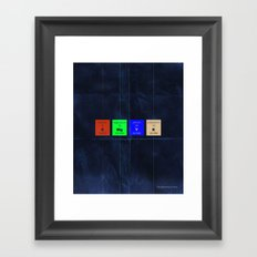 The Elements of Color Framed Art Print