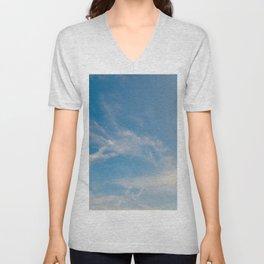 Hummingbird Cloud by Teresa Thompson Unisex V-Neck