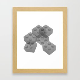 Brixed Mixed Framed Art Print