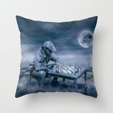 Bedenkzeit Throw Pillow
