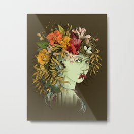 Persephone, goddess of Spring Metal Print