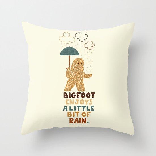 Simple Pleasure Throw Pillow