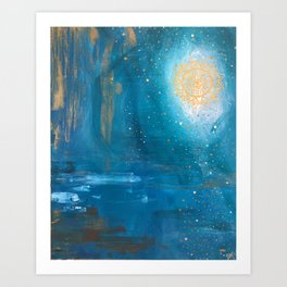 Will o' the Wisp Art Print