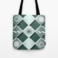 pyramid Tote Bags featuring Pyramid by MJ Mor