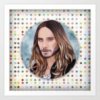 jared leto Art Prints featuring Jared Leto by Will Costa