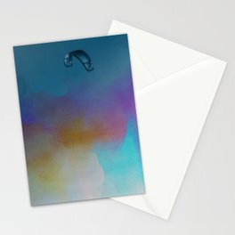 Parakite Cool 2 (watercolor mashup lite) Stationery Cards