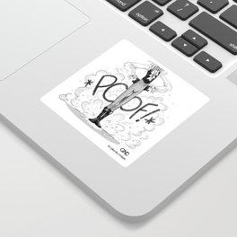 GND Glitter-POOF Sticker