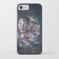 star lord iPhone & iPod Cases featuring Star Lord - Galaxy Guardian by Nina Palumbo Illustration