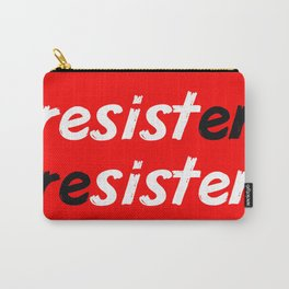 resister red Carry-All Pouch