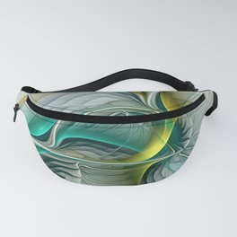 Fractal Evolution, Abstract Art Graphic Fanny Pack