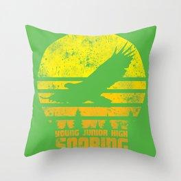 YJH Soaring Throw Pillow
