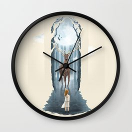 Knowing the Nature II Wall Clock