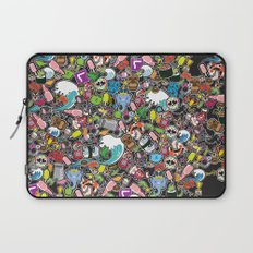 Sticker Bomb Laptop Sleeve