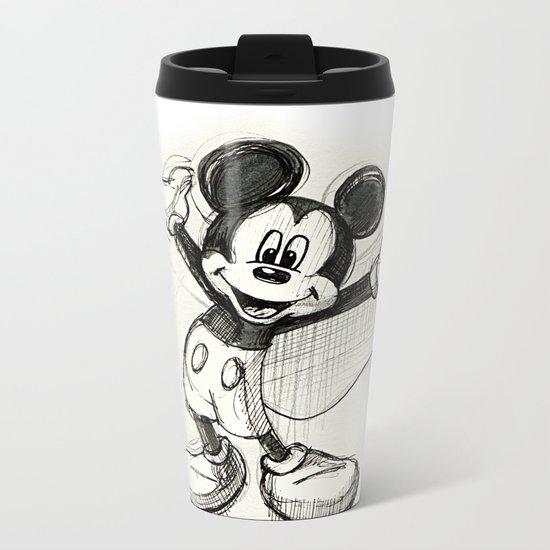 Mickey Mouse Metal Travel Mug