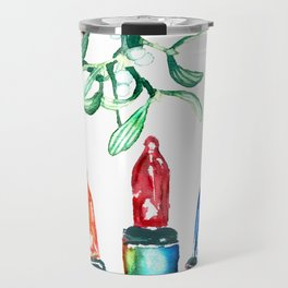 Merry and Bright Travel Mug