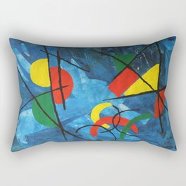In A Colorful World Rectangular Pillow