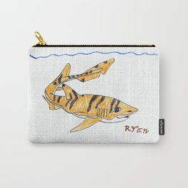 Tiger Cat Shark Carry-All Pouch