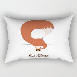 La Zorra Rectangular Pillow
