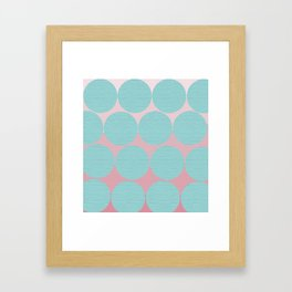 Polka Dots Framed Art Print