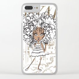 Mini Royal Clear iPhone Case