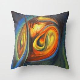 Luminous Forest Throw Pillow