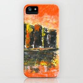 Orange city iPhone Case