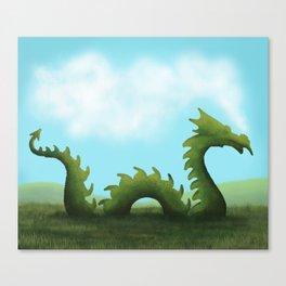 Dreams Of A Dragon Canvas Print