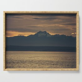 Seattle Sunset Serving Tray