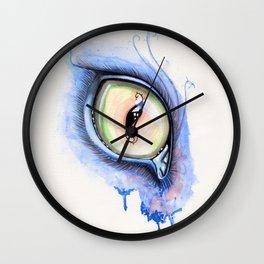 Cat Eye I Wall Clock