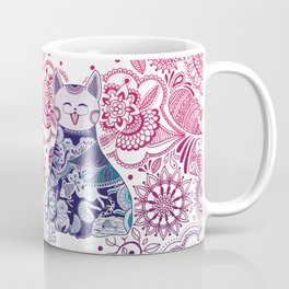 Touchy Cat Coffee Mug