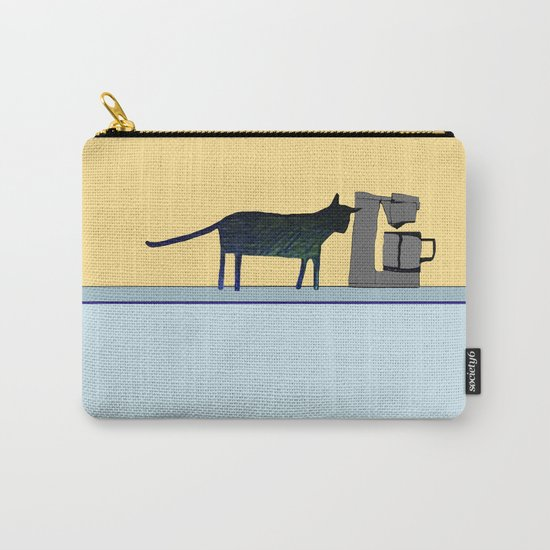Cat on the Counter Carry-All Pouch