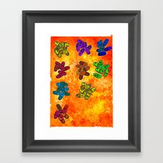 Color Theory Framed Art Print