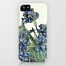 Play with Vincent's Irises iPhone Case