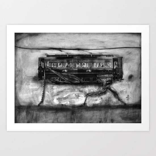 The Hopper Art Print