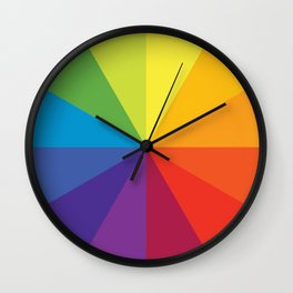 Colour circle Wall Clock