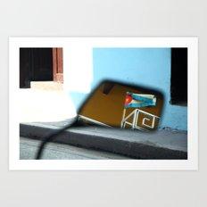 Colores de La Habana Art Print