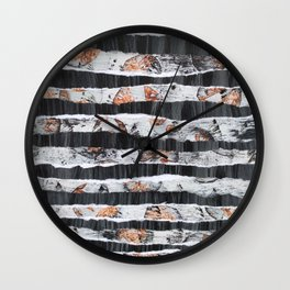 clawed strips Wall Clock